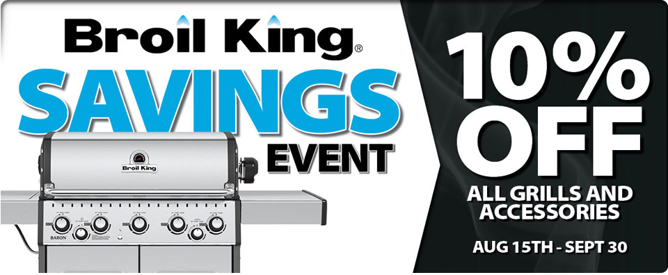 Broil King 10% OFF